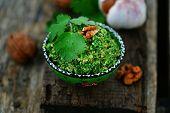 Spinach Pkhali. Georgian Appetizer