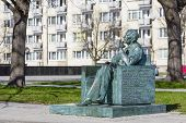 Monument To Jan Karski In Warsaw