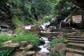foto of ravana  - Steps and Ravana waterfall near Ella Sri Lanka - JPG