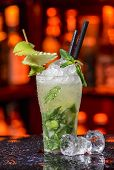 Pear Mojitos