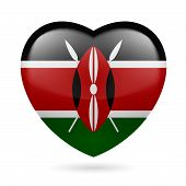 Heart icon of Kenya