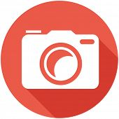 stock photo of memento  - Travel Flat Icon with Shadow - JPG