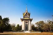 The Killing Field, Choeung Ek, Phnom Penh, Cambodia.