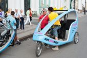 Cycle Taxis By The Hermitage, St. Petersburg