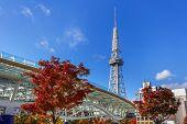 Nagoya Television Tower in Sakae district