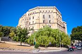 The Normans' Royal Palace (Palazzo Reale ) in Palermo, Sicily. The oldest royal seat in Europe.
