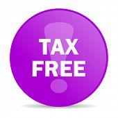 tax free web icon