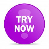try now web icon