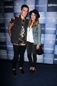 LOS ANGELES - SEP 18:  Josh Beech, Shenae Grimes at the People Stylewatch Hosts Hollywood Denim Party at The Line on September 18, 2014 in Los Angeles, CA