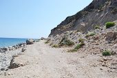 Coast Of The Aegean Sea