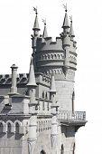 Swallow's nest castle in crimea;ukraine
