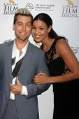 AVALON - SEP 26:  Lance Bass, Jordin Sparks at the