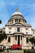 the st. paul's cathedral in london, england. churches in uk