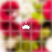 eps10 vector blurry photo realistic foliage elements on transparent seamless background