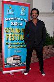 AVALON - SEP 27:  Kristoff St. John at the Catalina Film Festival Gala at the Casino on September 27, 2014 in Avalon, Catalina Island, CA