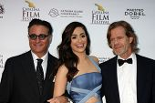 AVALON - SEP 27:  Andy Garcia, Emmy Rossum, William H. Macy at the Catalina Film Festival Gala at th