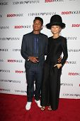 LOS ANGELES - SEP 26:  Trevor Jackson, Zendaya Coleman at the 12th Annual Teen Vogue Young Hollywood Party at Emporio Armani on September 26, 2014 in Beverly Hills, CA