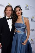 AVALON - SEP 27:  William H. Macy, Emmy Rossum at the Catalina Film Festival Gala at the Casino on S