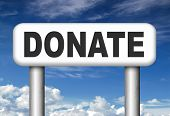 donate and give charity be generous and give donation and support