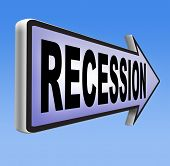 recession  in world economy crisis bank and stock crash economic and financial bank recession market crash
