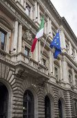 ROME, ITALY - SEPTEMBER 24, 2014: The Ministry of Agricultural, Food and Forestry Policies, an Italian government department.