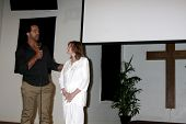 AVALON - SEP 26:  Kristoff St. John, Maria St. John at the
