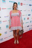 LOS ANGELES - SEP 28:  Sydney Tamiia Poitier at the 3rd Annual Red CARpet Safety at Skirball Center on September 28, 2014 in Los Angeles, CA