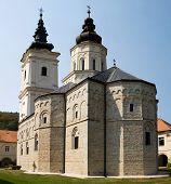 The Church In The Orthodox Monastery Jazak In Serbia