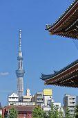 View Of Asakusa Tower