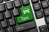Conceptual Keyboard - Taxi (green Key)