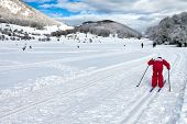 Country-cross Skier
