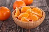 picture of clementine-orange  - orange - JPG