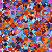 Colorful geometric pattern