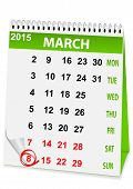 Holiday Calendar In 8 March