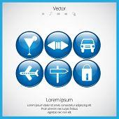 Vector icon set