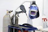 The image of welding equipment