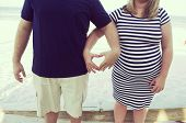 Heart Shaped Maternity Photo