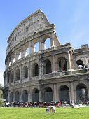 Rome: The Ruins Of The Ancient Roman Colloseum