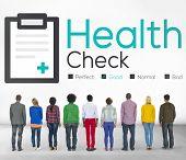 foto of medical condition  - Health Check Diagnosis Medical Condition Analysis Concept - JPG