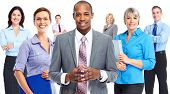 stock photo of team  - Group of business people team - JPG