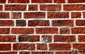 Ancient brickwork texture