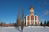 Temple of Dmitry Donskoy, Nizhny Tagil. Sverdlovsk region. Russia.