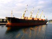 Cargo Ship for coal transport