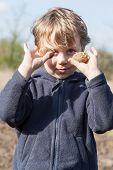 Portrait Of Boy With Potatoes