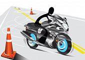 shadow man motorcycle