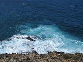 Breakers at the coast of Fuerteventura