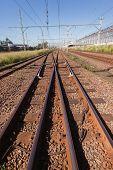 Train Rail Tracks