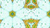 Fractal Kaleidoscopic Pattern