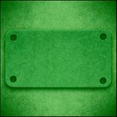 Green Cardboard Abstract Background