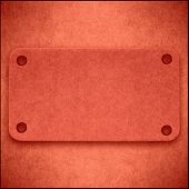 Red Cardboard Abstract Background